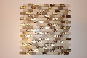 NEW - Tile Glass/Metal Mosaic – $4.99 a square foot
