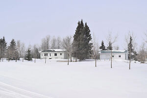 Well Maintained Acreage!
