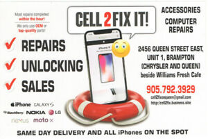 Cell Phone Repair Store, Iphone, Samsumg and all other phone