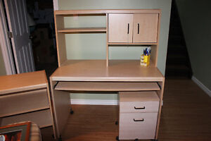 Moving Sale - Desk with Hutch
