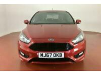 2017 Ford Focus 1.5 EcoBoost ST-Line 5dr Auto Hatchback Petrol Automatic