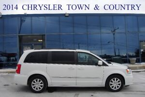 2014 Chrysler Town & Country ,Off-Lease, No Accident,One Owner