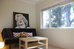 Summer Sublet Furnished 3 Bedroom Upper Level House at Kitsilano