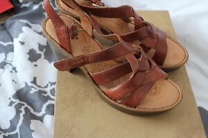 New in Box Born leather boho sandals