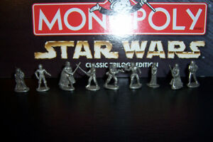 Limited Edition Star Wars Monopoly Complete with 9 Figures Cornwall Ontario image 4