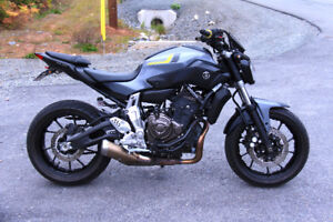 2015 Yamaha FZ-07 in Perfect Condition! Low KM's!