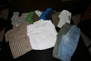 Lot of winter cloths for boy