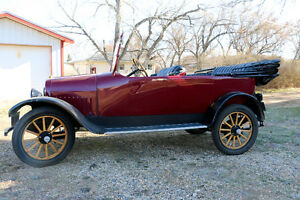 Restored 1918 Maxwell model 25 Touring Car
