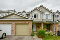No Condo Fees - Townhome Backing Onto Greenspace!