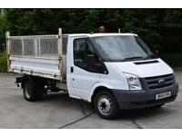 2.4 T350 RWD 2D 115 BHP LWB DIESEL MANUAL TIPPER VAN 2011