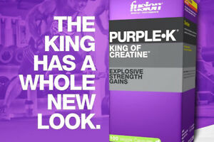 Hamilton Supplements - Purple K King of Creatine - Fusion Muscle