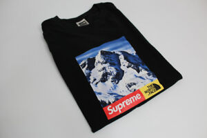 SOLD Supreme x North Face Mountain Tee Black Large SOLD