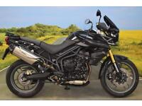 Triumph Tiger 800 2014** 2247 Miles, One Owner, Service History, ABS, Hand Guard