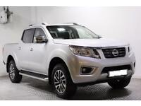 2016 Nissan Navara Double Cab Pick Up Tekna 2.3dCi 190 4WD Diesel silver Manual