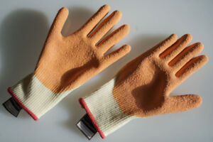 Dipped Work Gloves - Gants A Travail - Small Size
