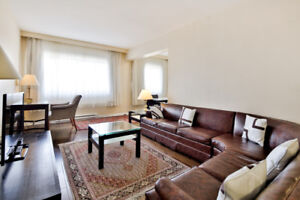 Fully Furnished Apartments (4 1/2) in Town of Mount Royal