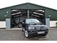 2005 BMW X5 4.4i PETROL AUTOMATIC SPORT V8 1 OWNER FROM NEW