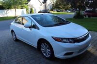 2012 Honda Civic EXL BAS KILOMÉTRAGES/LOW MILEAGE!!!!!!