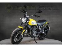 2017 17 DUCATI SCRAMBLER ICON 803CC 0% DEPOSIT FINANCE AVAILABLE