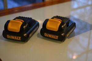DeWalt  Batery DCB120  12 v   Brand New