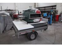 oven mounted trailer