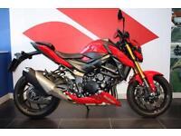 2017 17 SUZUKI GSXS 750 AL7 ABS RED LOW MILEAGE
