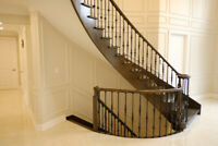 Crown Moulding and Wainscoting installations