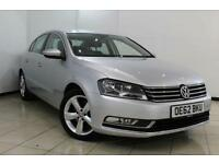 2013 62 VOLKSWAGEN PASSAT 2.0 SE TDI BLUEMOTION TECHNOLOGY DSG 4DR AUTOMATIC 139