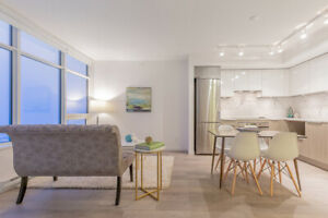 Metrotown 1 Bedroom, 506 SQ FT with Sweeping City View, 22nd flr