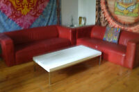 Tables basse & d'appoint blanches Ikea white coffee & side table