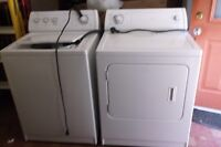 matching white whirlpool washer and dryer