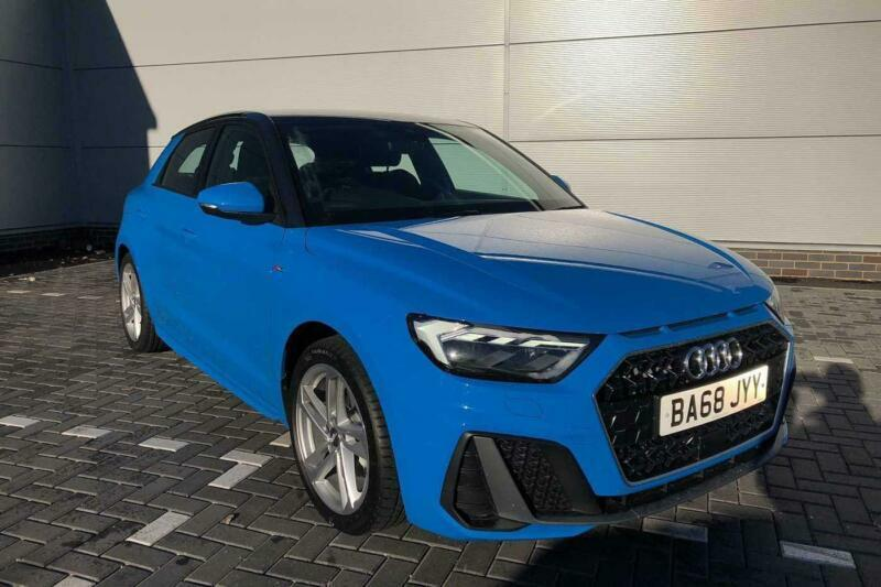 2019 Audi A1 Sportback S Line 30 Tfsi 116 Ps 6 Speed Petrol Blue
