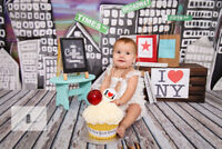 CAKE SMASH!! Custom cake INCLUDED!! Such a fun way to celebrate!