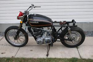 1973 HONDA CB 750 FOR PARTS HAVE REGISTRATION $350