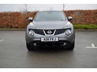 2011 NISSAN JUKE Nissan Juke 1.6 DiG T Tekna 5dr 2WD