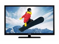 "Polaroid 40"" LED Widescreen Full HD(1080p) TV With USB, Remote & Built-In Freeview"