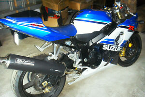 suzuki gsx 600 2005 accidenter pour pieces