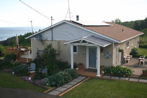 Energy Efficient 3/2 Bungalow with Spectacular Bay of Fundy View