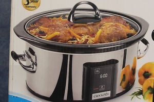 New Crock Pot Touch Screen 6L / New Price