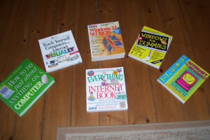 EDUCATIONAL BOOKS FOR LEARNING TO OPERATE COMPUTER