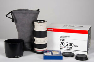 Objectif Canon 70-200 F4 L IS USM