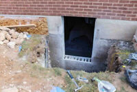 Concrete cutting - for window widening, separate entrance door