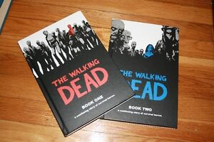 Walking Dead Book 1 & 2 - Hardcover Graphic Novel