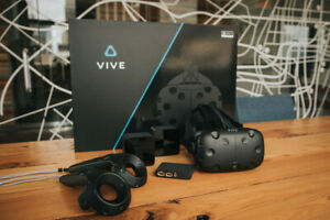 Used once HTC Vive VR Headset for PC