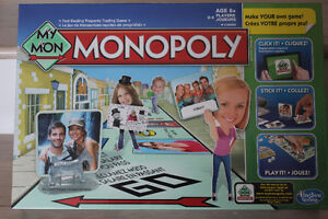 "**** BRAND NEW *** "" MY MONOPOLY "" GAME"