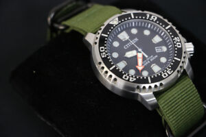**BLING** Citizen Eco-Drive, Divers' 200M, GN-4-S