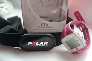 Polar FT4 Heart Rate Monitor (PINK)