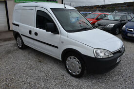 Vauxhall Combo 1.3CDTi 16v ( a/c ) 2000 Crew WITH REAR SEATS+ 2011 MODEL +BEST+