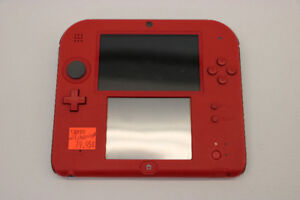 **RED** Nintendo 2DS System and Charger (#13890)