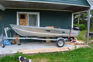 boat/motor and trailer for sale